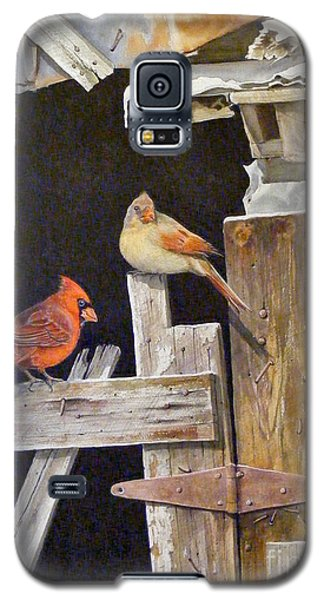 A Visit To Daddy's Barn  Sold Galaxy S5 Case