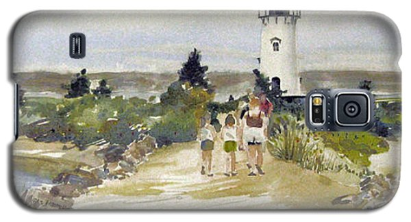 A Walk To Edgartown Light Galaxy S5 Case