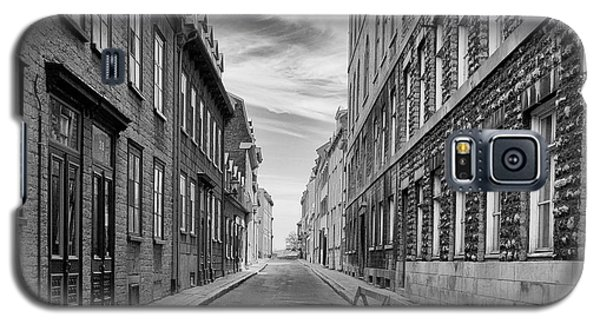 Galaxy S5 Case featuring the photograph Abandoned Street by Eunice Gibb