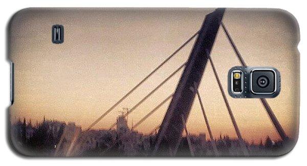 Abdoun Bridge, Jordan - Amman Galaxy S5 Case by Abdelrahman Alawwad