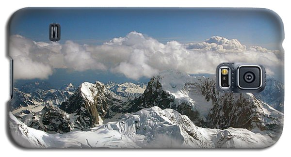 Galaxy S5 Case featuring the photograph Above Mckinley by Kay Lovingood