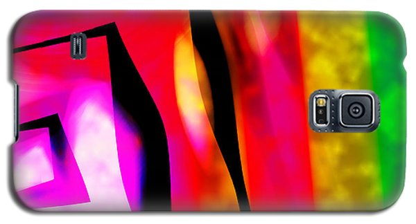 Abstract Angles And Lines Galaxy S5 Case