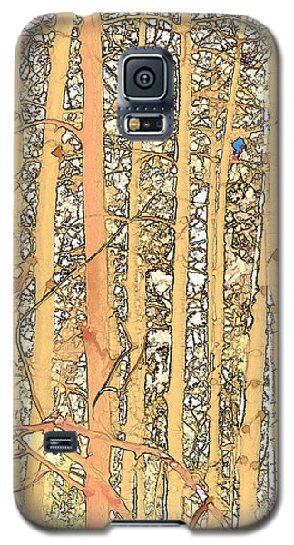 Abstract Aspens Galaxy S5 Case