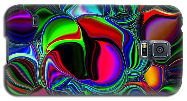 Abstract Colors 1 Galaxy S5 Case