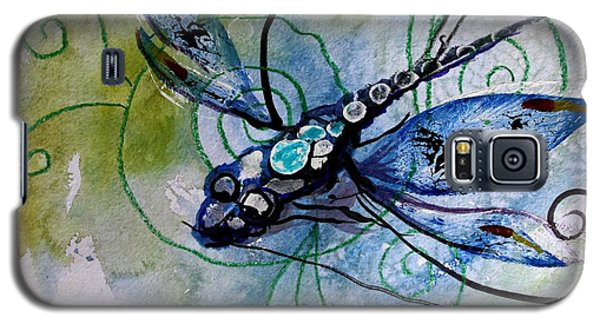 Abstract Dragonfly 10 Galaxy S5 Case