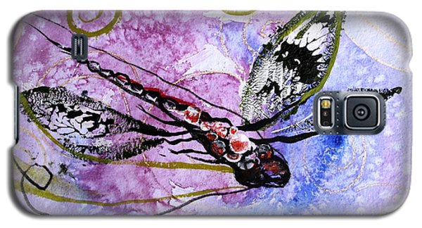 Abstract Dragonfly 6 Galaxy S5 Case