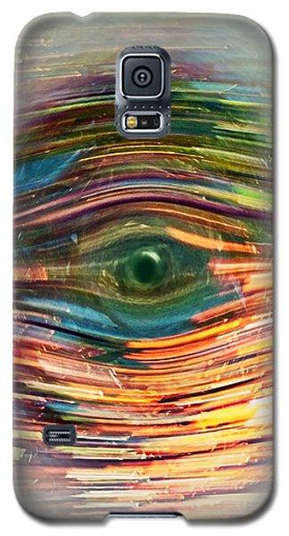 Abstract Eye Galaxy S5 Case
