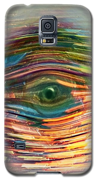 Abstract Eye Galaxy S5 Case