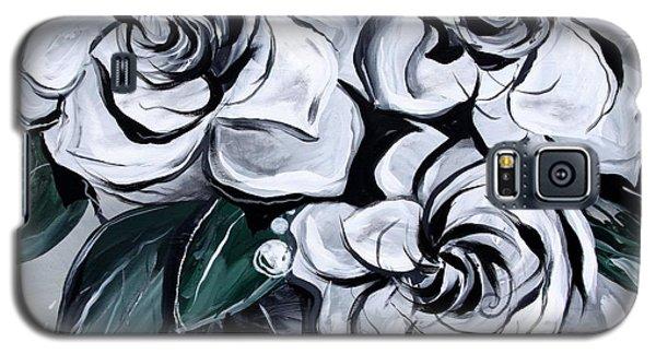 Abstract Gardenias Galaxy S5 Case