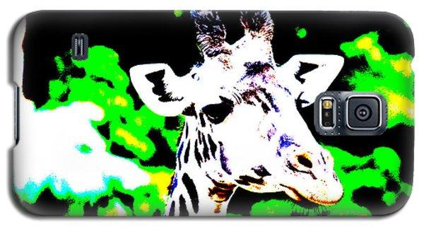 Abstract Giraffe Galaxy S5 Case