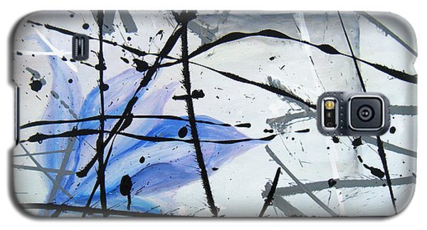 Galaxy S5 Case featuring the painting Abstract Impressionist by Chriss Pagani