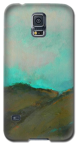 Abstract Landscape - Turquoise Sky Galaxy S5 Case
