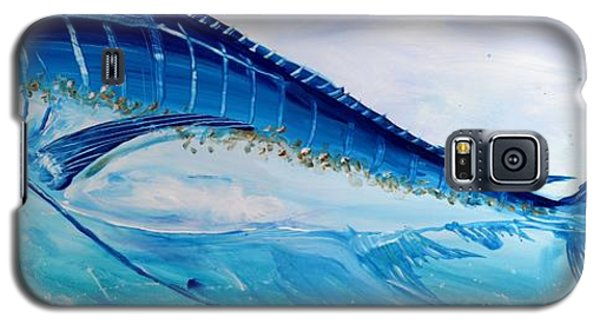 Abstract Marlin Galaxy S5 Case