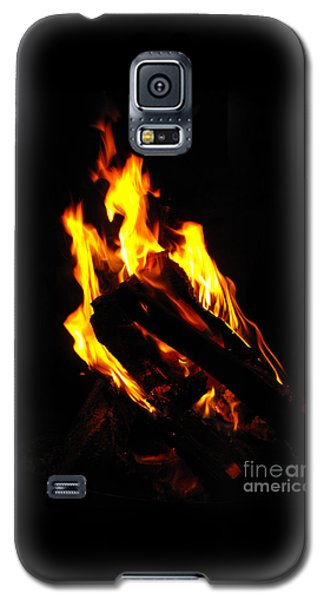 Abstract Phoenix Fire Galaxy S5 Case