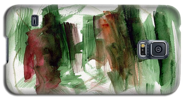 Galaxy S5 Case featuring the painting Abstract Watercolor 51 by Chriss Pagani
