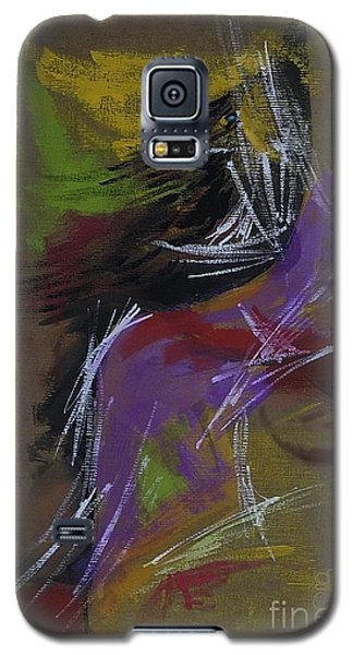 Abstract Woman Galaxy S5 Case
