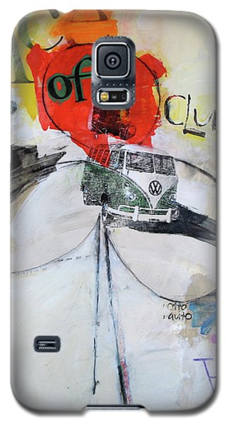 Galaxy S5 Case featuring the painting Ace Of Clubs 36-52 by Cliff Spohn