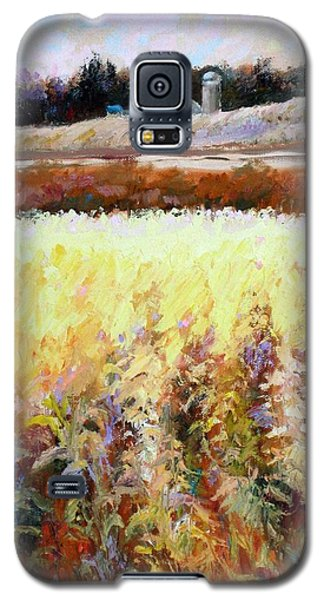 Across The Cornfield Galaxy S5 Case by Bonnie Goedecke
