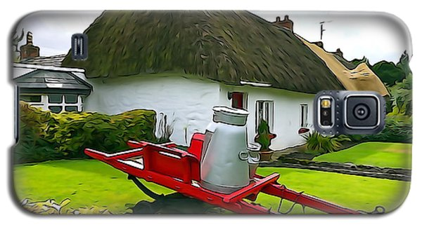 Galaxy S5 Case featuring the photograph Adare Cottage by Charlie and Norma Brock