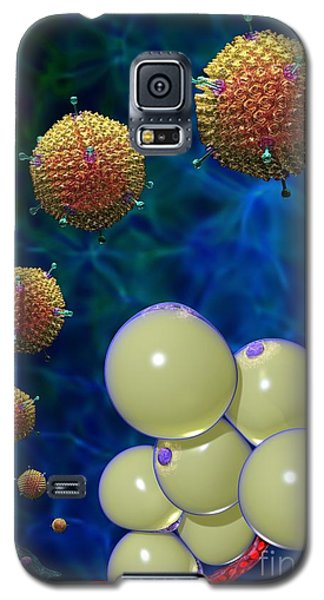 Adenovirus 36 And Fat Cells Galaxy S5 Case