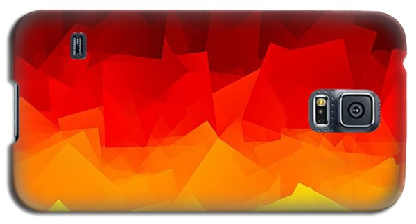 Galaxy S5 Case featuring the digital art Afire by Jeff Iverson