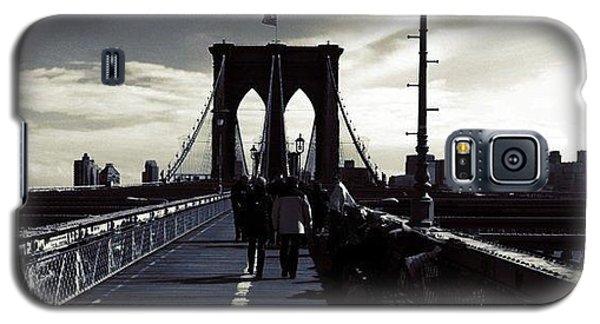 Afternoon On The Brooklyn Bridge Galaxy S5 Case