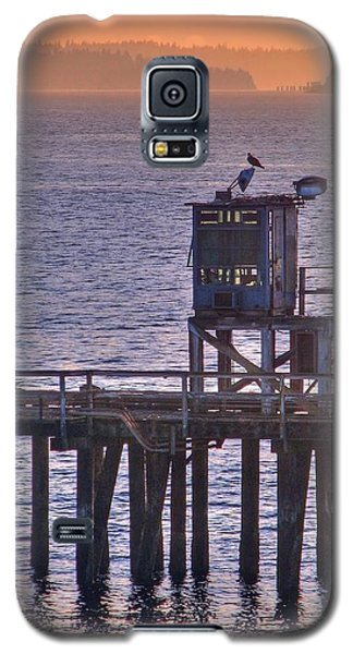 Galaxy S5 Case featuring the photograph Aging Pier by Chris Anderson