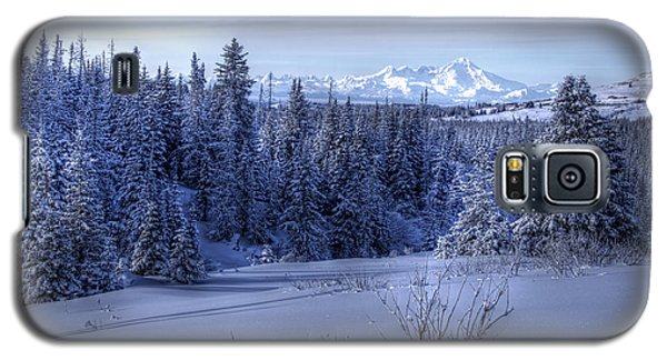 Galaxy S5 Case featuring the photograph Alaskan Winter Landscape by Michele Cornelius