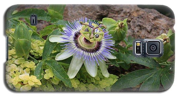 Alien Flower Galaxy S5 Case by Jerry Bunger