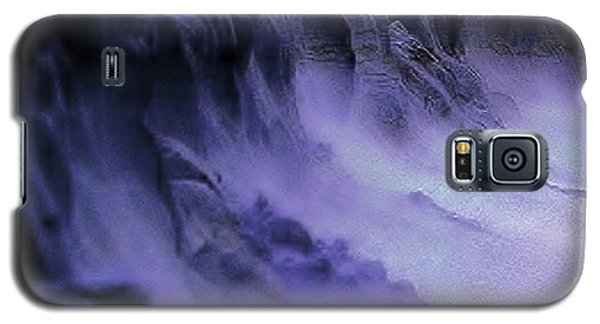 Galaxy S5 Case featuring the photograph Alien Landscape The Aftermath by Blair Stuart