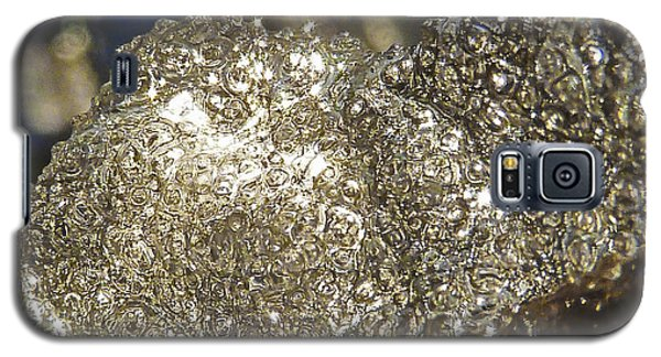 Galaxy S5 Case featuring the photograph All That Glitters Is Definitely Cold by Steve Taylor