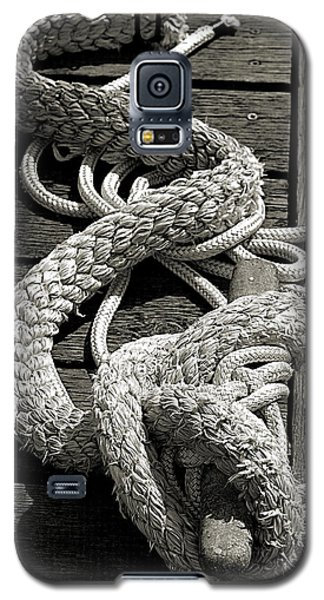 All Tied Up Galaxy S5 Case by Bob Wall