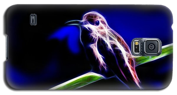 Allens Hummingbird - Fractal Galaxy S5 Case