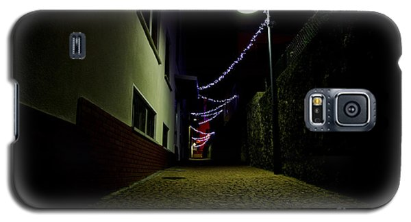 Alley With Lights Galaxy S5 Case