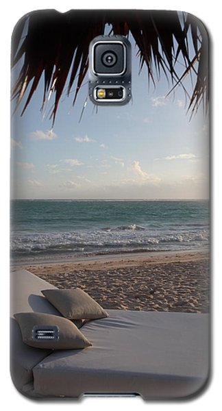 Galaxy S5 Case featuring the photograph Alluring Tropical Beach by Karen Lee Ensley