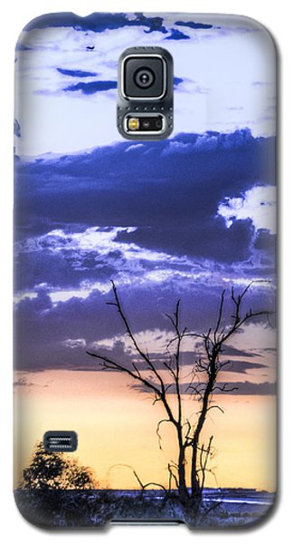 Galaxy S5 Case featuring the photograph Alone by Marta Cavazos-Hernandez