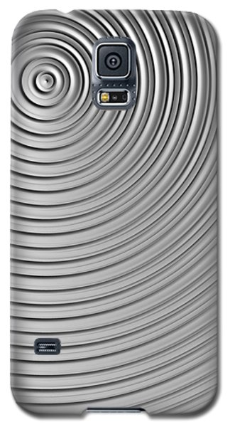 Galaxy S5 Case featuring the digital art Also Not A Spiral by Jeff Iverson