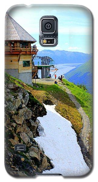 Galaxy S5 Case featuring the photograph Alyeska Ski Resort Alaska by Kathy  White