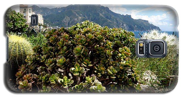 Galaxy S5 Case featuring the photograph Amalfi Coast Succulents by Tanya  Searcy