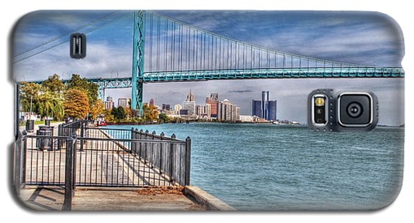Ambassador Bridge Detroit Mi Galaxy S5 Case