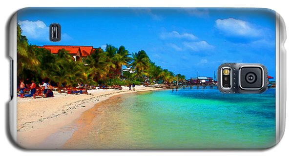 Ambergris Caye Belize Galaxy S5 Case