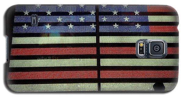 Patriotic Galaxy S5 Case - American Lights by Natasha Marco
