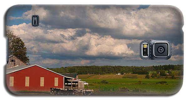 Galaxy S5 Case featuring the photograph America's Breadbasket by Cindy Haggerty