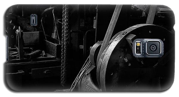 Galaxy S5 Case featuring the photograph Ames Mfg Co by Tom Singleton
