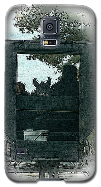 Amish Buggy Ride Galaxy S5 Case