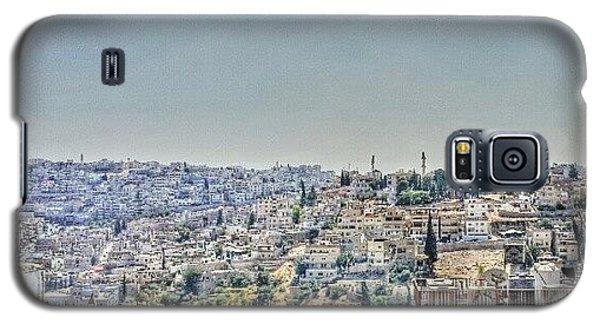 Amman Down Town, #downtown #city Galaxy S5 Case