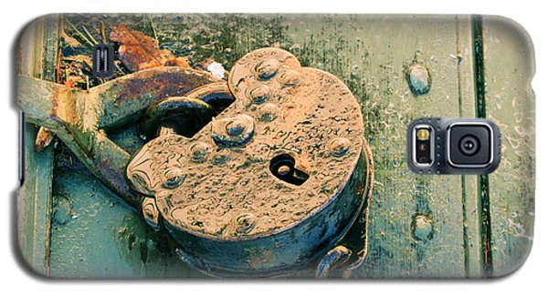 Galaxy S5 Case featuring the photograph Old Lock by Katie Wing Vigil