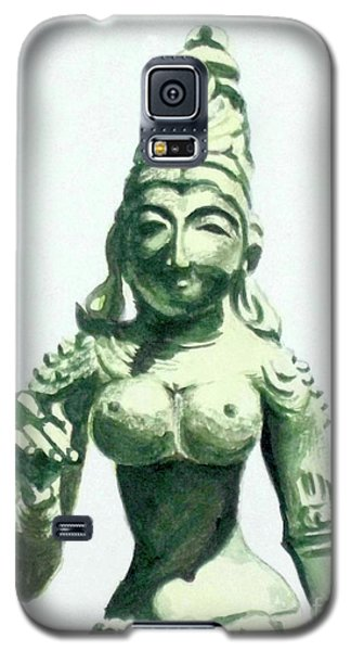 Galaxy S5 Case featuring the painting An Oriental Statue At The Toledo Museum Of Art-4 by Yoshiko Mishina
