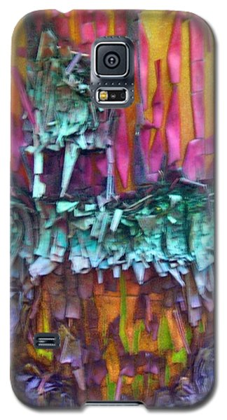 Galaxy S5 Case featuring the digital art Ancient Footsteps by Richard Laeton