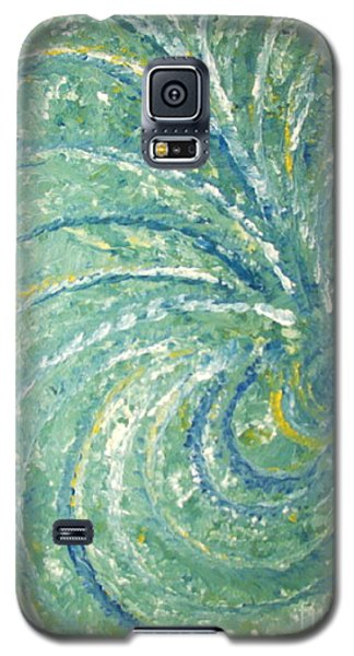 And The Peacock Danced Galaxy S5 Case